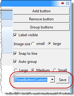 Name field and Save button
